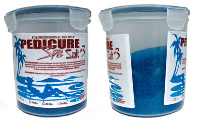 Pedicure Foot Scrubs/Gels 1.4 kg for one TubPedicure Spa Salt