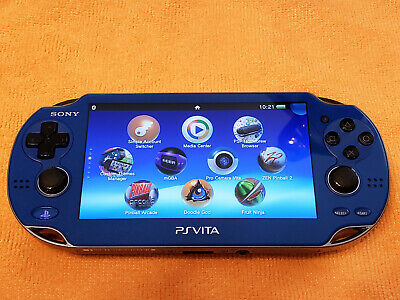 BLUE PS VITA PlayStation Vita OLED 3 65 Henkaku Modded Enso 128GB