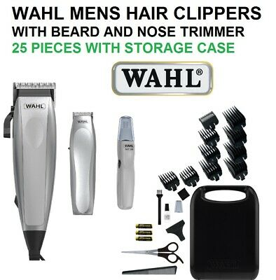 Wahl Electric Hair Clippers with Cordless Beard Hair Trimmer Mens Haircut Set
