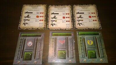 Space Crusade Marines Reference Data Card or Commander Scanner Dash (Price Each)