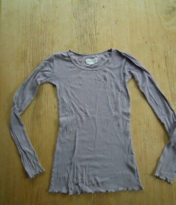 Phister & Phlina Pale Purple Cotton Long Sleeved Top. Age 11-12 Years.
