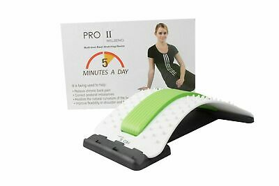 Pro11 Wellbeing Back Stretcher With Acupressure Points And Padded Cushioning