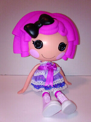 Crumbs Sugar Cookie Full Size Lalaloopsy in Purple Violet Fashion Pack Dress