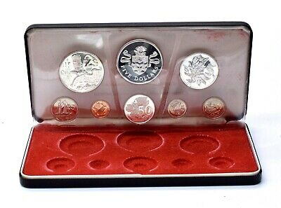 1972 Royal Canadian Mint Cayman Islands Set AUCTION