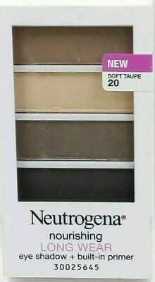 Neutrogena Nourishing Long Wear Eye Shadow 20 SOFT TAUPE 103B