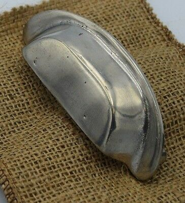 Giara Italian Cup Handle in Britannium C65-88 Country Pull Kitchen drawer pull
