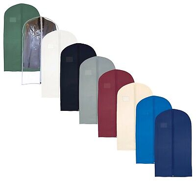 Hoesh UK Pack 10 Breathable Clothes Suit Dress Bags Protector Cover Garment Bags