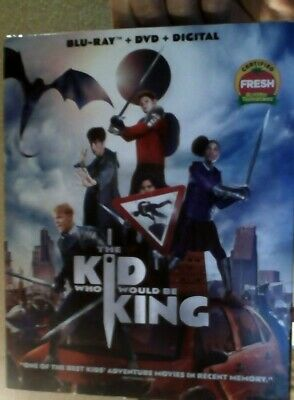The Kid Who Would Be King  Bluray Dvd Digital
