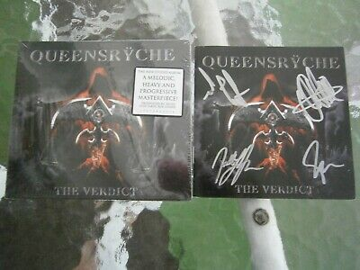Queensryche The Verdict New Cd and signed Extra Booklet pre order last one