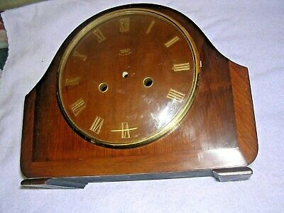 Clock  Parts   Smiths ,Enfield  Mantel Clock  Case,