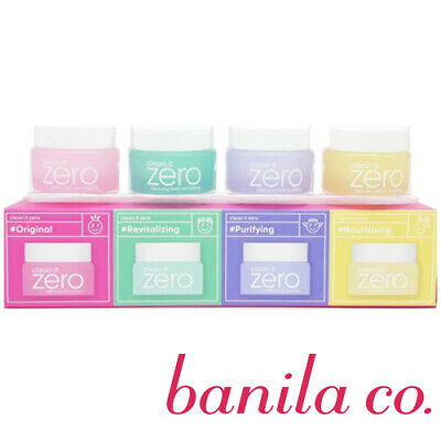 [BANILA CO] Clean It Zero Makeup Remover Cleansing Balm Special Kit 7ml NEW