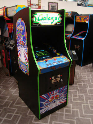 Dedicated 1981 Galaga Arcade Game, cool game!