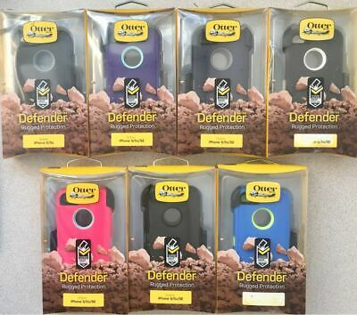 New OEM Otterbox Defender Case for iPhone 5s iPhone 5 iPhone SE -With Holster- !