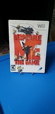 Despicable Me: The Game (Nintendo Wii, 2010) complete, tested and works