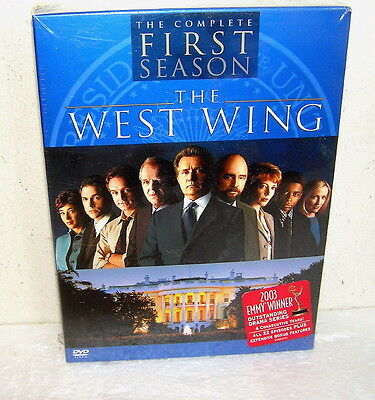 The West Wing Dvd  Setnew In Shrink Wrap Complete 1St Season  Discs Hbo Classic