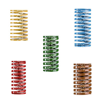 Heavy Load Duty Compression Die Spring, 8-18mm Diameter & Up To 55mm Long JIS