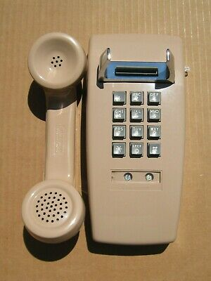 Vintage Western Electric Bell System 2554 B2M Wall Telephone with Box