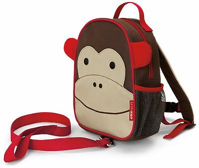 Skip Hop ZOOLET MINI BACKPACK WITH REINS - MONKEY Kids Clothes Bags BNIP