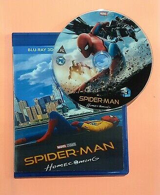 Spider-Man: Homecoming   3D Blu-ray