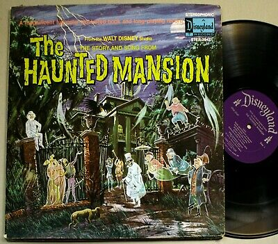 DISNEY PARKS HAUNTED Mansion Vinyl Picture Disc 12 inch