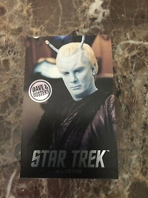 Dave and Buster's Aliens Star Trek Non Foil Andorians Arcade Card