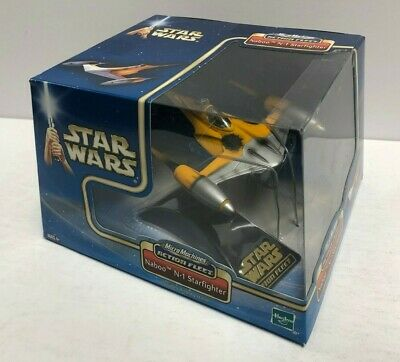 NABOO N-1 STARFIGHTER Star Wars 2002 Hasbro Micro Machines Action Fleet Set