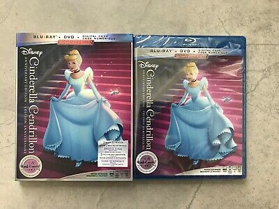 Cinderella: Anniversary Edition (Blu-ray + DVD + Digital, Bilingual)