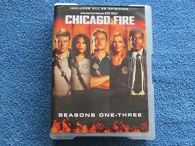 Chicago Fire Series 1, 2 & 3 Dvd  - All 69 Episodes On 18 Discs