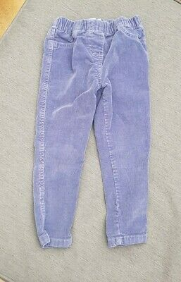 MINI BODEN Girls Lavender Skinny Cords 3yrs New