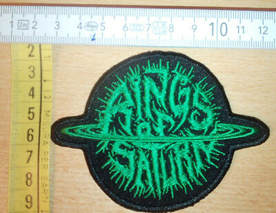 Rings Of Saturn Rare Woven Patch Gojira Thy Art Is Murder Meshuggah