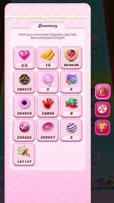 Candy Crush Saga Account - Over $2,800,000 in boosters included, yes $2+ million