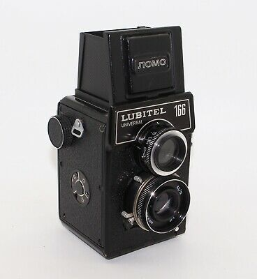 Lubitel 166 Universal TLR 120 Film Camera 6x6 by LOMO with strap - Tested & VGC