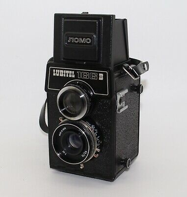 Lubitel 166B TLR 120 Film Camera 6x6 by LOMO with lens cap & bag - VGC & Tested