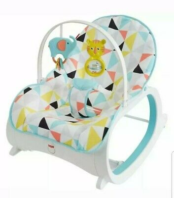 Fisher-Price Infant-To-Toddler Rocker Portable Sleeper Soother Napper Bouncer