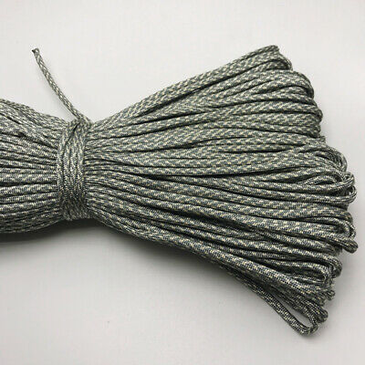 550 Paracord Parachute Cord Lanyard Mil Spec Type III 7 Strand Core 25FT HOT11