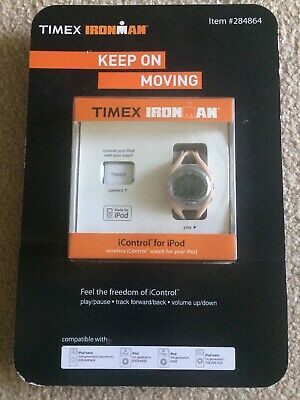 Timex Ironman Watch with iControl for iPod New 284864
