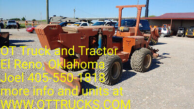 1982 Ditch Witch R40 Trencher 16in Chain 493Hrs One owner push blade Used