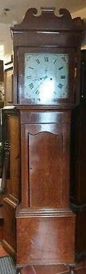 Antique 8 Day Grandfather Clock by S Kellett of Bredbury - Delivery Arranged