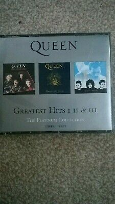 Queen The Platinum Collection 3 CD Set