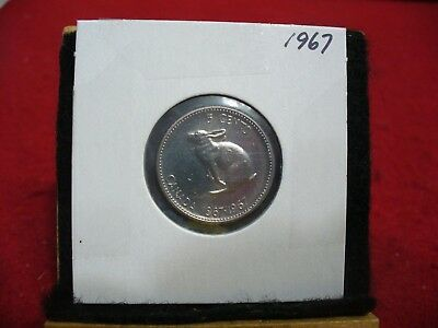 1967  Canada  1  Nickel 5 Cents  Coin  Proof Like Sealed   High  Grade