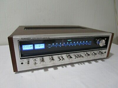 Vintage Pioneer SX-737 Stereo Receiver w/ LED Upgraded Dial Lamps -------> Cool!