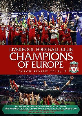 Liverpool Football Club Champions of Europe Season Review /19  New (DVD  2019)