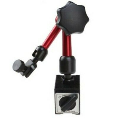AGPtek® 3-joint Red Adjustable Magnetic Base Holder for Digital Dial Indicator