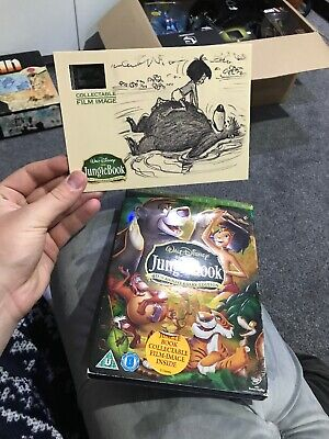 The Jungle Book 40th Anniversary Platinum Edition 3 Disc Dvd With Film Cell