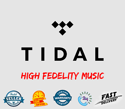 🔥 Tidal Premium Account 🎵 Lifetime Subscription / Warranty 🚀 FAST Delivery 🔥