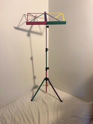K & M Original Collapsible Multicolour Music Stand German Made