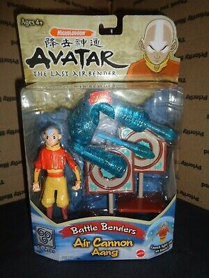 AVATAR THE LAST AIRBENDER - Battle Benders - Air Cannon Aang BRAND NEW SEALED 4+