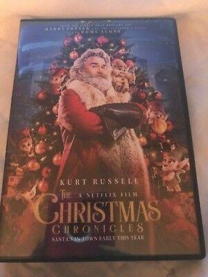 The Christmas Chronicles (DVD,2018)**REGION 1** NEVER BEEN PLAYED*****