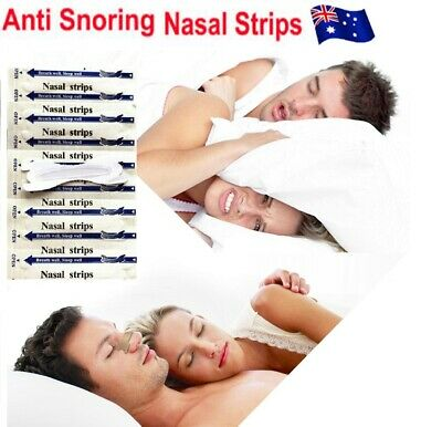 Nasal Strips Drug-Free Nasal Congestion Relief & Improved Breathing Comfortable