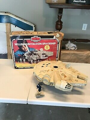 Vintage Star Wars ESB Millenium Falcon MIB 1980 w/Original Box